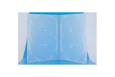 Коробка для дисков Noname DVD-box на 4 диска прозрачная