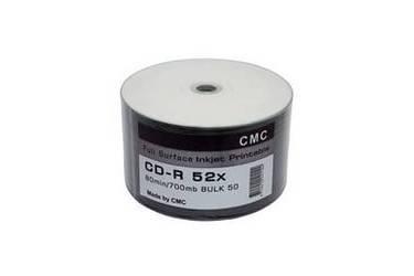 Диск DVD-R Cmc 4,7GB 16x Bulk/50 Printable