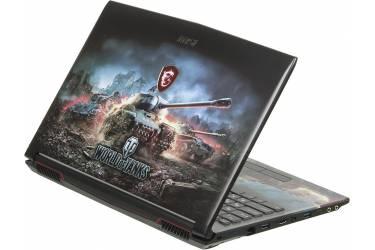 "Ноутбук MSI GP62M 7REX(WOT Edition)-2091RU Core i7 7700HQ/8Gb/1Tb/nVidia GeForce GTX 1050 Ti 4Gb/15.6""/FHD (1920x1080)/Windows 10/black/WiFi/BT/Cam"