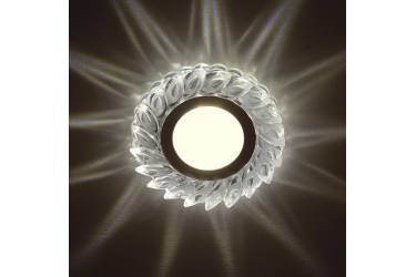 Светильник точечный Uniel DLS-L128 GU5.3 CHROME/CLEAR без лампы