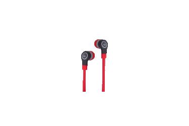 Наушники Vixter EM-2885 внутриканальные с микрофоном черно-красные