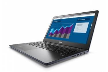 "Ноутбук Dell Vostro 5568 Core i5 7200U/8Gb/SSD256Gb/Intel HD Graphics 620/15.6""/FHD (1920x1080)/Windows 10 Home 64/dk.blue/WiFi/BT/Cam"