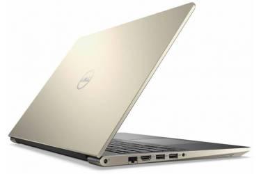 "Ноутбук Dell Vostro 5568 Core i5 7200U/8Gb/SSD256Gb/Intel HD Graphics 620/15.6""/FHD (1920x1080)/Windows 10 Home 64/gold/WiFi/BT/Cam"