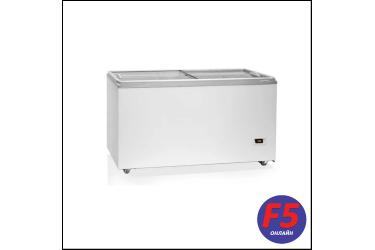 Морозильный ларь Бирюса Б-455VDZY белый 284Вт