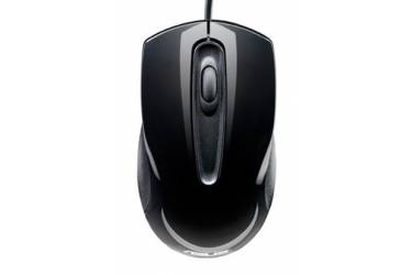 Мышь Asus UT200 черный оптическая (1000dpi) USB2.0 для ноутбука (2but)