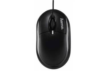 Мышь Hama AM-8300 черный оптическая (1200dpi) USB (2but)