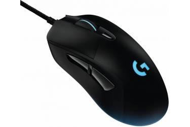 Мышь Logitech G403 Prodigy черный оптическая (12000dpi) USB игровая (5but)