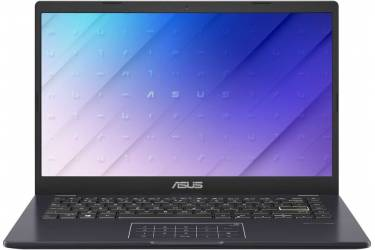 "Ноутбук Asus VivoBook E410MA-EB338T Pentium Silver N5030/4Gb/SSD256Gb/Intel UHD Graphics 605/14""/IPS/FHD (1920x1080)/Windows 10/blue/WiFi/BT/Cam"