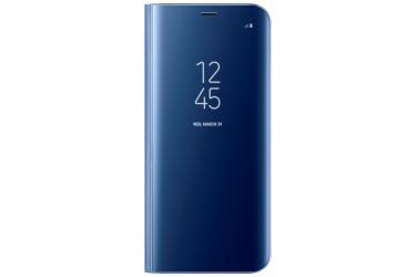 Оригинальный чехол (флип-кейс) для Samsung Galaxy S8+ LED View Cover голубой (EF-NG955PLEGRU)