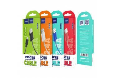 Кабель USB Hoco X24i Pisces Lightning (белый)