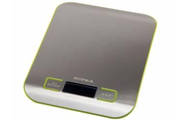 Весы кухонные электронные Supra BSS-4075 металл 5кг