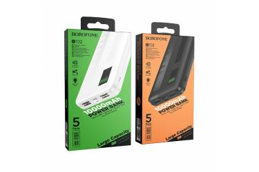 Внешний аккумулятор Borofone BT32 Precious mobile power bank 10000 mAh Black