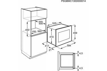 Микроволновая печь Electrolux EMS26004OK 25л. 900Вт черный