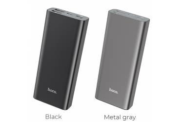 Внешний аккумулятор Hoco J51 Cool power widely compatible 10000 mAh metal gray