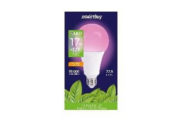 Светодиодная (LED) Лампа ФИТО Smartbuy-A80Fito-17W/E27 (SBL-A60-17-fito-E27)/100 _для растений
