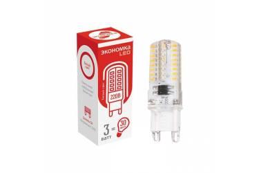 Лампа светодиодная ЭКО_Экономка _G9_3W/4500K_ G9