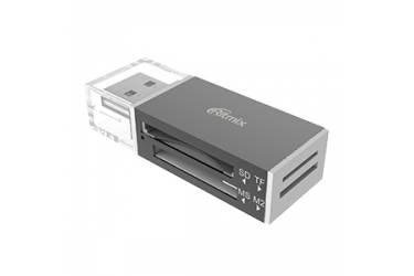 Адаптер Ritmix Card Reader USB 2.0 Full High Speed CR-2042 black