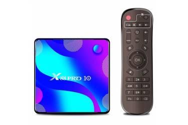 Приставка Android TV X88 Pro 10 (4Gb/64Gb)