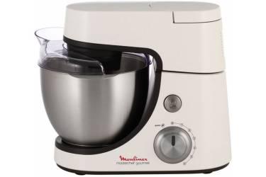 Кухонная машина Moulinex QA5001B1 планетар.вращ. 900Вт белый/темно-серый
