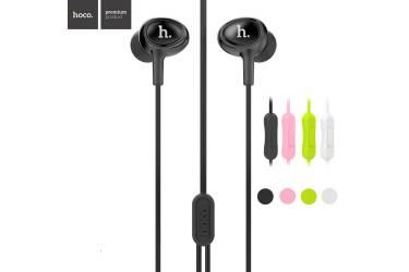Наушники Hoco M3 внутриканальные c микрофоном Universal Earphone Черные