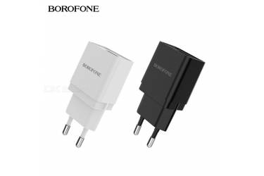 CЗУ Borofone BA19A Nimble single port charger White