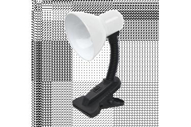 Светильник настольный на прищепке ASD СНП-01Б 40Вт E27 белый (мягкая упаковка) IN HOME