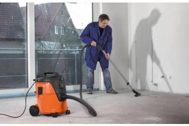 Строительный пылесос AEG AP2-200 ELCP 1000Вт (уборка: сухая/влажная) оранжевый