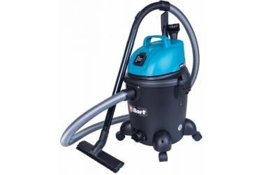 Строительный пылесос Bort BSS-1220 (уборка: сухая/влажная) синий