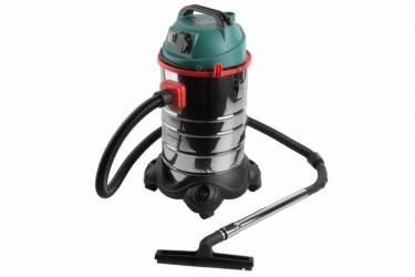Строительный пылесос Hammer Flex PIL30A 1400Вт (уборка: сухая/влажная) зеленый (плохая упаковка)