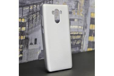 Силиконовый чехол LIKGUS CARBON для Xiaomi Redmi 5A, Серебристый