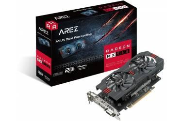 Видеокарта Asus PCI-E AREZ-RX560-2G-EVO AMD Radeon RX 560 2048Mb 128bit GDDR5 1149/6000 DVIx1/HDMIx1/DPx1/HDCP Ret