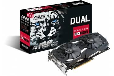 Видеокарта Asus PCI-E DUAL-RX580-4G AMD Radeon RX 580 4096Mb 256bit GDDR5 1340/7000 DVIx1/HDMIx2/DPx2/HDCP Ret
