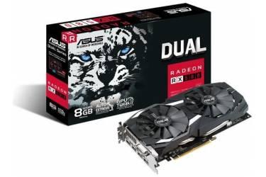 Видеокарта Asus PCI-E DUAL-RX580-8G AMD Radeon RX 580 8192Mb 256bit GDDR5 1340/8000 DVIx1/HDMIx2/DPx2/HDCP Ret