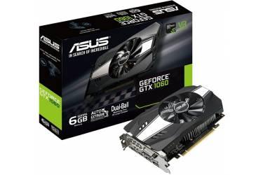 Видеокарта Asus PCI-E PH-GTX1060-6G nVidia GeForce GTX 1060 6144Mb 192bit GDDR5 1506/8008 DVIx1/HDMIx2/DPx1/HDCP Ret