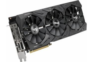Видеокарта Asus PCI-E ROG-STRIX-RX580-8G-GAMING AMD Radeon RX 580 8192Mb 256bit GDDR5 1340/8000 DVIx1/HDMIx2/DPx2/HDCP Ret