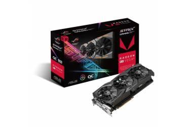 Видеокарта Asus PCI-E ROG-STRIX-RXVEGA56-O8G-GAMING AMD Radeon RX Vega 56 8192Mb 2048bit HBM2 1297/800 DVIx1/HDMIx2/DPx2/HDCP Ret