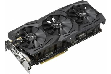 Видеокарта Asus PCI-E STRIX-GTX1060-A6G-GAMING nVidia GeForce GTX 1060 6144Mb 192bit GDDR5 1518/8008 DVIx1/HDMIx2/DPx2/HDCP Ret