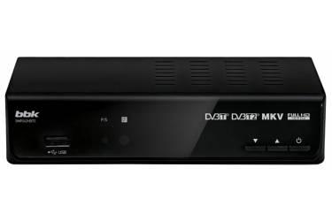 Цифровой TV-тюнер BBK T2 SMP242HDT2 черный