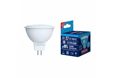 Лампа светодиодная Uniel Norma LED-JCDR-7W/NW/GU5.3/NR