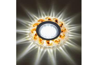 Светильник точечный Uniel DLS-L139 GU5.3 GLASSY/TEA без лампы