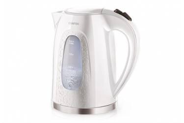 Чайник электрический Centek CT-0041 White 2.0л 2200Вт, открывание кнопкой, внутренняя подсветка