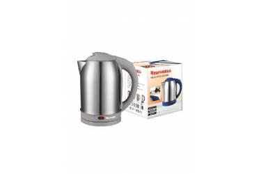 Чайник электрический Чудесница ЭЧ-2029 нержавейка/серый пластик 1800Вт 2л