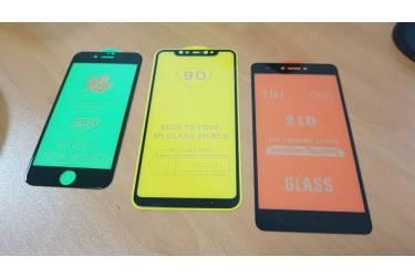 _Защитное стекло Base Xiaomi Redmi Note 8 Цвет Черный