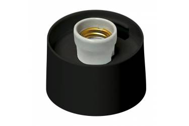Основание для парковых светильников Uniel UFP-А01AE BLACK Е27 черный