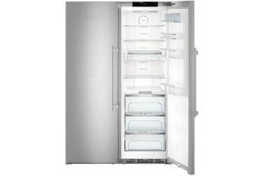 Холодильник Liebherr SBSes 8663 нержавеющая сталь (двухкамерный)