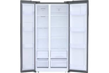 Холодильник Shivaki SBS-572DNFX нержавеющая сталь (двухкамерный)