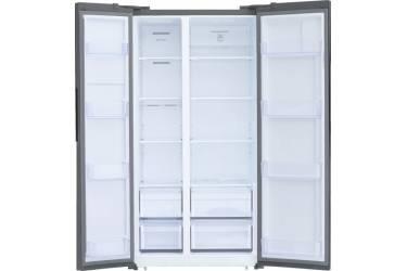 Холодильник Shivaki SBS-574DNFX нержавеющая сталь (двухкамерный)