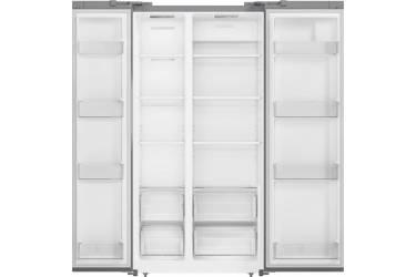Холодильник Shivaki SBS-574DNFGS серебристое стекло (двухкамерный)