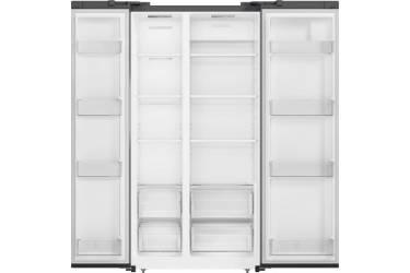 Холодильник Shivaki SBS-572DNFGBL черное стекло (двухкамерный)