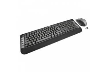 Комплект клавиатуара+мышь Trust Tecla Wireless Multimedia черный